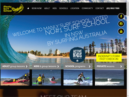 Manly Surf School shopping