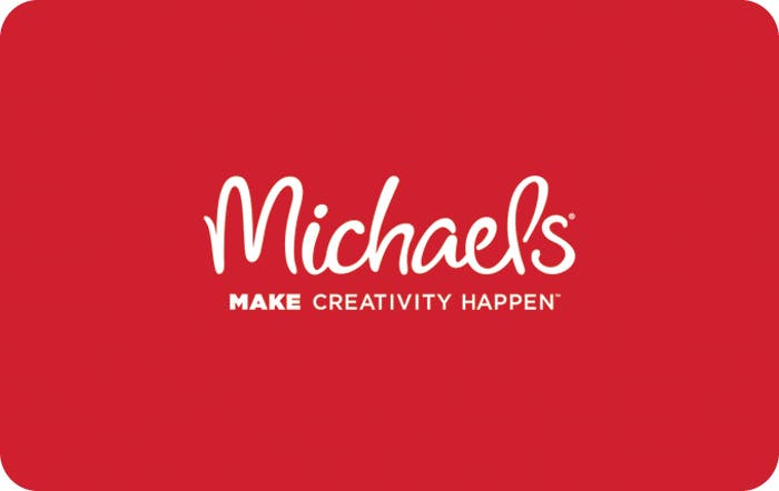 Michael's gift card design and art work