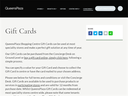 QueensPlaza gift card purchase