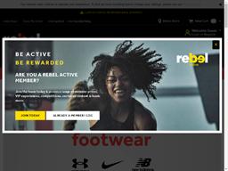 Rebel Sports shopping