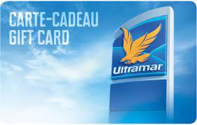 Ultramar gift card design and art work
