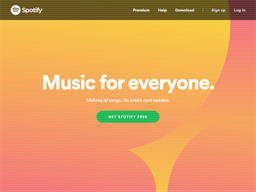 Spotify shopping