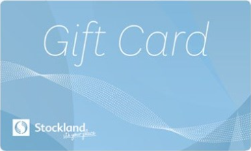 Stockland gift card design and art work