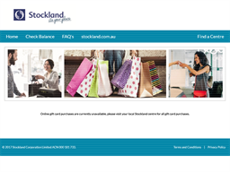 Stockland gift card purchase