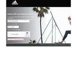 Adidas gift card balance check