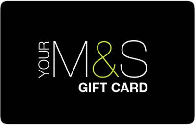 Marks & Spencer gift card design and art work