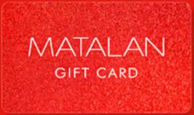Matalan gift card design and art work