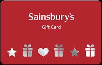Sainsbury's gift card design and art work
