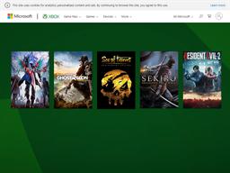 Xbox shopping