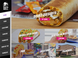 Taco Bell shopping