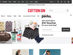 Cotton On shopping