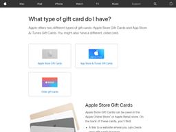 Apple Music gift card balance check