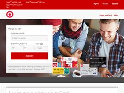 Target Visa Prepaid Card gift card balance check