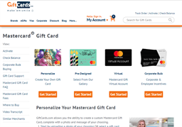 Visa Gift Card GiftCards.Com gift card purchase