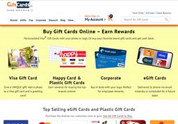 Visa Gift Card GiftCards.Com shopping
