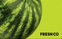 Freshco gift card design and art work