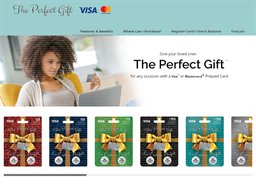 The Perfect Gift Visa gift card purchase