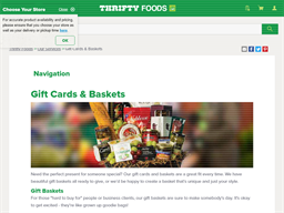 Thrifty Foods Smile Card gift card purchase