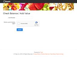 16 Handles gift card balance check