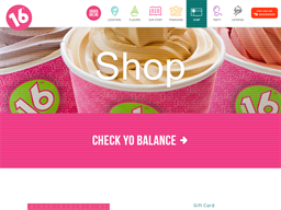16 Handles gift card purchase