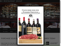 801 Restaurant Group gift card purchase