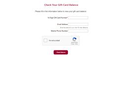 99 Restaurant & Pub gift card balance check