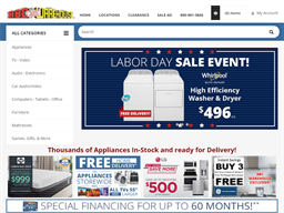 ABC Warehouse shopping