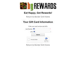 Border Grill gift card balance check