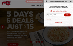Red Lobster gift card balance official website