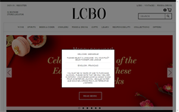 LCBO gift card balance official website