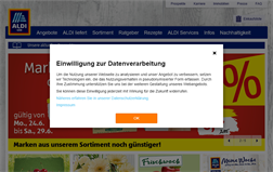 ALDI Süd shopping