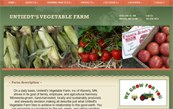 Untiedt's Vegetable Farm Inc. gift card balance official website