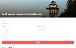 Airbnb gift card balance official website