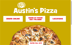 Austin's Pizza gift card balance official website